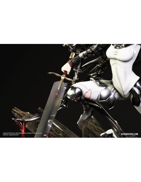 Kitsune Statue - CLARE VS RIGALDO épée