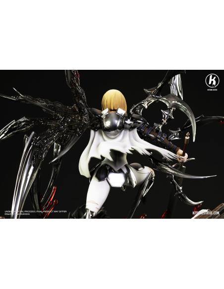 Kitsune Statue - CLARE VS RIGALDO de dos