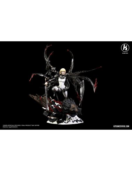 Kitsune Statue - CLARE VS RIGALDO 15