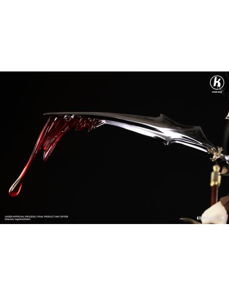 Kitsune Statue - CLARE VS RIGALDO épée ensanglantée