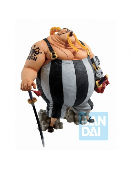 One Piece Figurine - Ichibansho Queen (The Fierce Men Who Gathered At The Dragon) profile droit