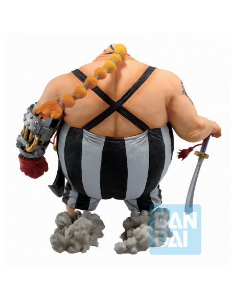 One Piece Figurine - Ichibansho Queen (The Fierce Men Who Gathered At The Dragon) de dos