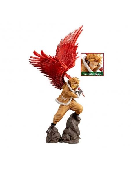 My Hero Academia Figurine - ARTFXJ 1/8 Hawks Bonus Edition tête alternative