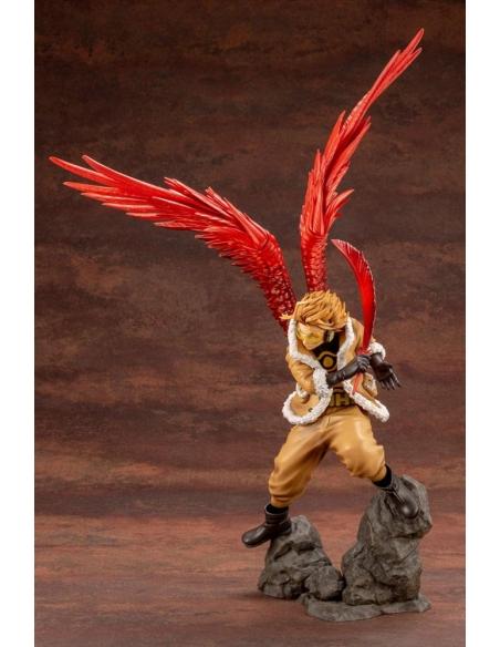 My Hero Academia Figurine - ARTFXJ 1/8 Hawks Bonus Edition de profile