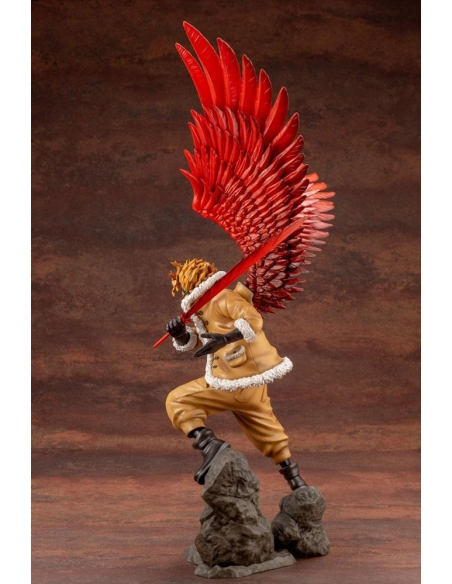 My Hero Academia Figurine - ARTFXJ 1/8 Hawks Bonus Edition de dos