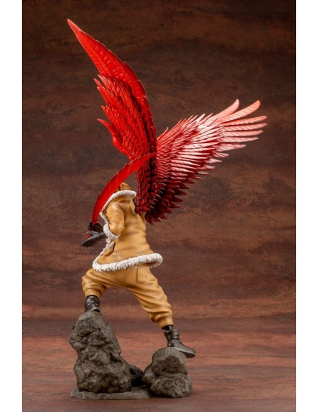 My Hero Academia Figurine - ARTFXJ 1/8 Hawks Bonus Edition de dos 2