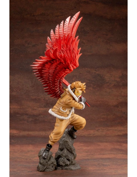 My Hero Academia Figurine - ARTFXJ 1/8 Hawks Bonus Edition profile droit