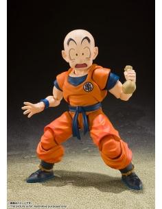 Dragon Ball Z figurine S.H. Figuarts Krillin Earth's Strongest Man haricot magique