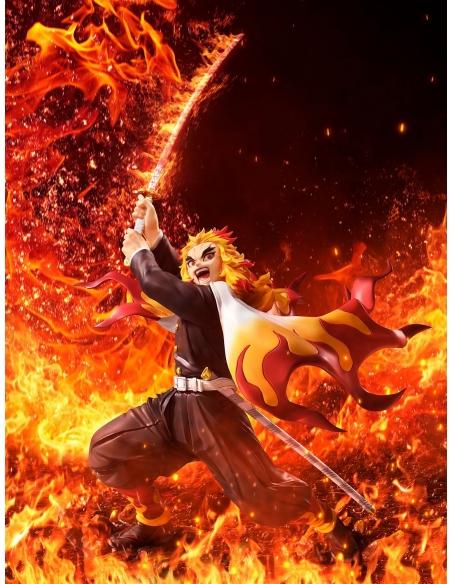 Demon Slayer: Kimetsu no Yaiba statue 1/8 Kyojuro Rengoku DX Ver. décor