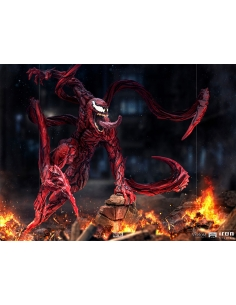 """Iron Studios - Venom: Let There Be Carnage statuette 1/10 BDS Art Scale """" Carnage """" décor"""