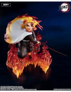 Demon Slayer Figurine - Figuarts Zero - Kyojuro Rengoku Flame Hashira tête alternative