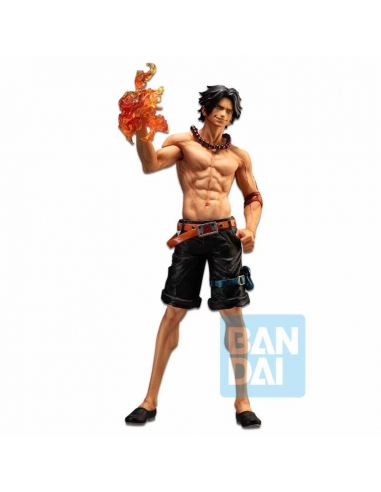 Ichibansho One Piece Figurine - Portgas D Ace (The Bonds of Brothers)