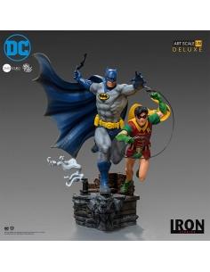 DC Comics statuette 1/10 Deluxe Art Scale Batman & Robin by Ivan Reis 25 cm