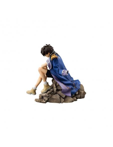 Gundam Wing Figurine 1/8 Heero Yuy profile gauche