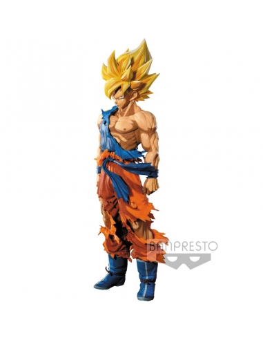 Super Master Stars Piece Super Saiyan Goku Manga Dimensions