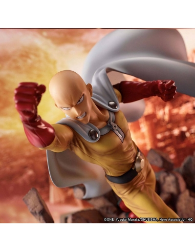 One Punch Man statue