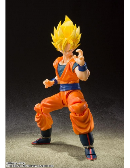 SH Figuarts Goku SS Full power