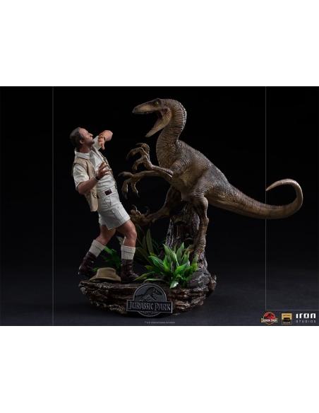 Iron Studios - Jurassic Park Statuette 1/10 Deluxe Art Scale Clever Girl