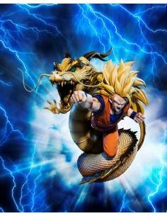 "Figuarts Zero (Extra Battle) Super Saiyan 3 Son Goku ""Dragon Fist""- Figurine Dragon Ball Z"