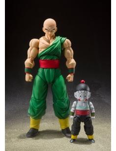 Dragon Ball Z 2 figurines - S.H. Figuarts Tenshinhan & Chaoz