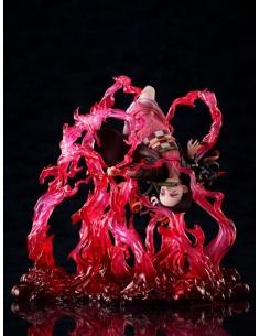 Demon Slayer: Kimetsu no Yaiba statuette 1/8 Nezuko Kamado Exploding Blood - Aniplex