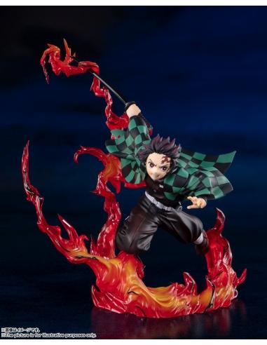 Demon Slayer: Figurine Kimetsu No Yaiba - Figuarts Zero Tanjiro Kamado (Total Concentration Breathing)