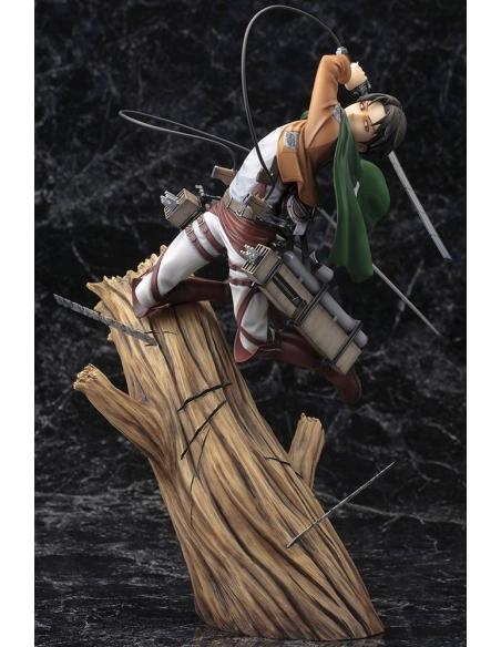 Attack on Titan Figurine PVC - ARTFXJ 1/8 Levi Renewal Package Ver.