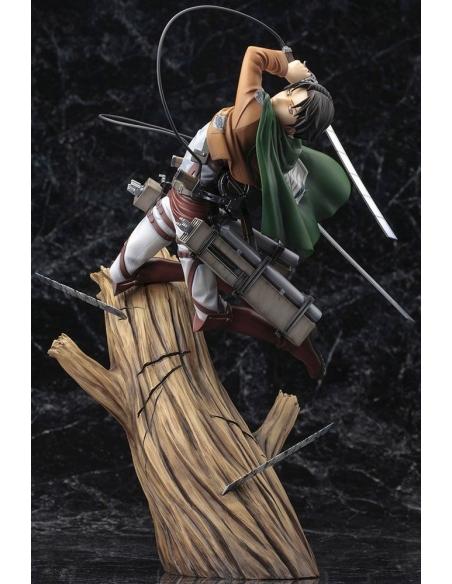 Attack on Titan Figurine PVC - ARTFXJ 1/8 Levi Renewal Package Ver.de profile
