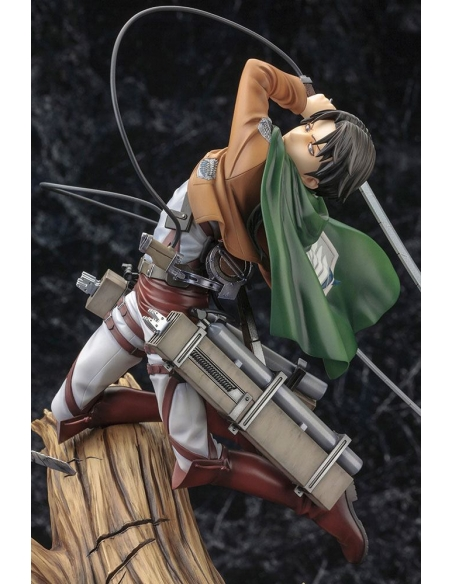 Attack on Titan Figurine PVC - ARTFXJ 1/8 Levi Renewal Package Ver. le personnage