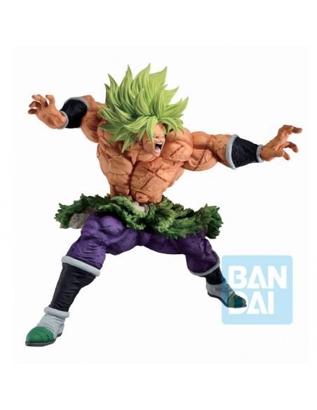 DRAGON BALL Z - Ichibansho Figurine Full Power Super Saiyan Broly (Back To The Film) de profile