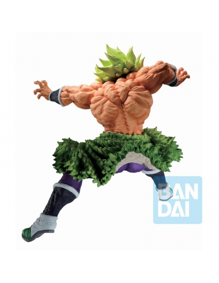 DRAGON BALL Z - Ichibansho Figurine Full Power Super Saiyan Broly (Back To The Film) de dos