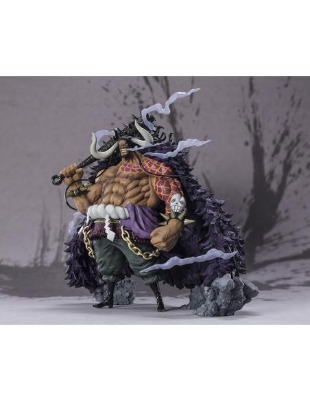 One Piece Figurine - Figuarts Zero Kaido - King Beast Battle profile gauche
