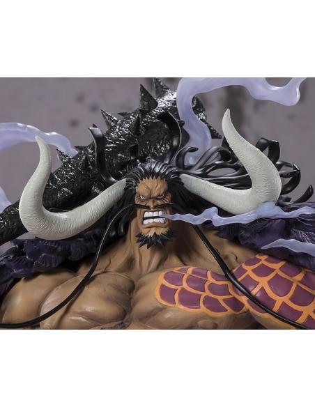 One Piece Figurine - Figuarts Zero Kaido - King Beast Battle visage
