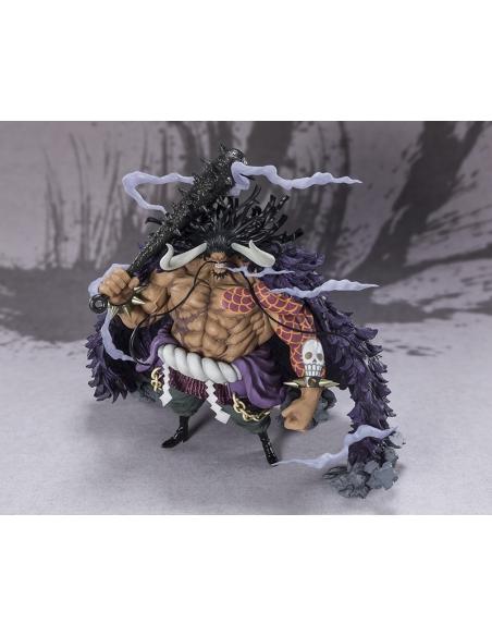 One Piece Figurine - Figuarts Zero Kaido - King Beast Battle vu de haut