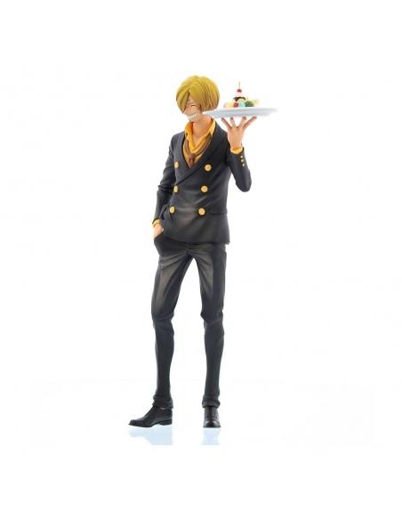 One Piece Figurine - Grandista Nero Sanji profile gauche